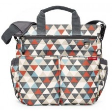 Skip Hop Duo Signature Diaper Bag- TRIANGLES