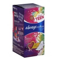 Always Totally Teen Radiant Infinity Pads 28 Count