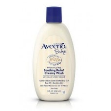 AVEENO BABY SMOOTH RELIEF CREAMY WASH 8 FLUID OUNCE
