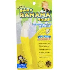 Baby Banana Toddler Training Toothbrush