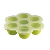 BEABA Silicone Multiportions Container - Baby Food Storage Silicone Tray