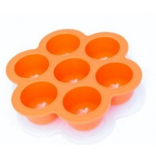 Beaba Orange Multiportions Freezer Trays