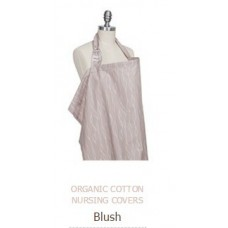 ORGANIC COTTON NURSING COVERS Blush