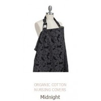 ORGANIC COTTON NURSING COVERS Midnight