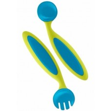 BENDERS ADAPTABLE UTENSILS BLUE/GREEN GBL