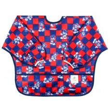 Sleeved Bib MICKEY CHECKERED
