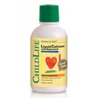 CHILD LIFE LIQUID CALCIUM WITH MAGNESIUM-16OZ