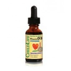 CHILD LIFE VITAMIN D3-MIXED BERRY 1 OZ