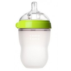 Comotomo Silicone Baby Bottle 8oz GREEN