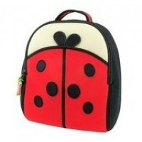 DABBAWALLA Cute as a Bug Ladybug Backpack