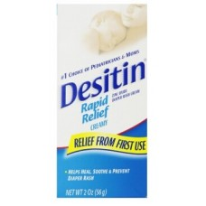 DESITIN® Rapid Relief Cream: Zinc Oxide Diaper Rash Cream 2OZ