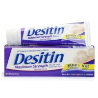 DESITIN® Maximum Strength Original Paste: Zinc Oxide Paste 4OZ