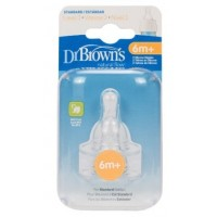 DR.BROWNS Level-3 STANDARD Nipple 2-Pack