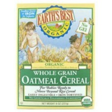 WHOLE GRAIN OATMEAL CEREAL 8OZ