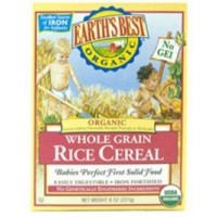 WHOLE GRAIN RICE CEREAL 8OZ