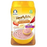 GERBER® Hearty Bits™ Multigrain Cereal Banana Apple Strawberry