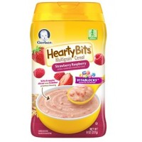 GERBER® Hearty Bits™ Multigrain Cereal Strawberry Raspberry