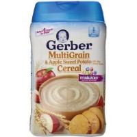 Gerber Multigrain Apple Sweet Potato Baby Cereal