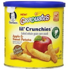 GERBER® GRADUATES® Lil' Crunchies® APPLE SWEET POTATO