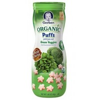 GERBER® Organic Puffs Green Veggies