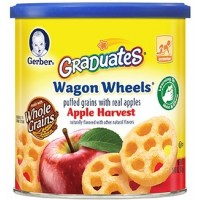 GERBER® GRADUATES® Wagon Wheels® Apple Harvest