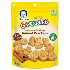 GERBER® GRADUATES® Animal Crackers Cinnamon Graham