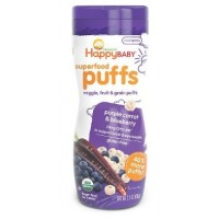 Superfood Puffs - Purple Carrot & Blueberry