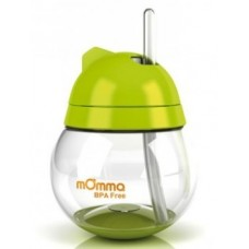mOmma® Straw Cup Green