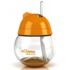 mOmma® Straw Cup Orange