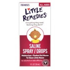 Little Remedies - Saline Spray/Drops