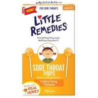 Little Remedies - Sore Throat Pops