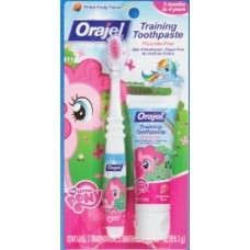 My Little Pony Toddler Training Toothbrush & Toothpaste, Pinkie Fruity