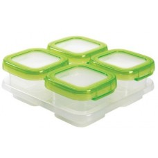 OXO Baby Blocks™ Freezer Storage Containers (4 oz green)