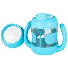 OXO Sippy Cup Set with Training Lid (7 oz.) aqua