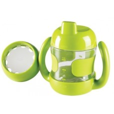 OXO Sippy Cup Set with Training Lid (7 oz.) green