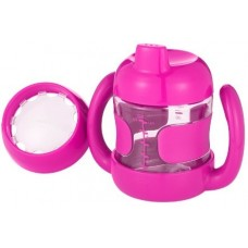 OXO Sippy Cup Set with Training Lid (7 oz.) pink