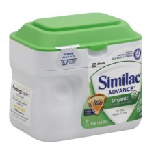 Similac Advance Organic Complete Nutrition Infant Formula, Powder, 0-12 Months