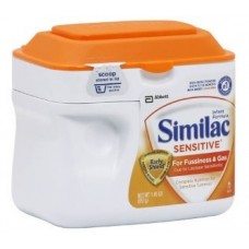Similac Sensitive Infant Formula for Fussiness & Gas, Powder, 0-12 Months - 23.2 oz tub Similac Sensitive Infant Formula for Fussiness & Gas, Powder, 0-12