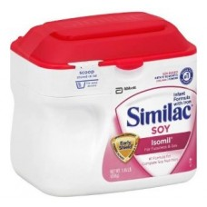 Similac Soy Isomil Infant Formula for Fussiness & Gas, Powder, 0-12 Months