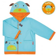 SKIPHOP ZOO RAIN COATS - DOG MEDIUM