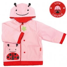 SKIPHOP ZOO RAIN COATS - LADYBUG MEDIUM