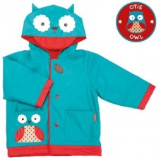 SKIPHOP ZOO RAIN COATS - OWL MEDIUM