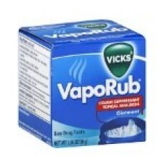 Vicks VapoRub Cough Suppressant Ointment - 1.76 oz