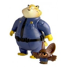 Zootopia Clawhauser & Bat Eyewitness Character Pack
