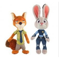 Zootopia Large Paws Plush Bundle