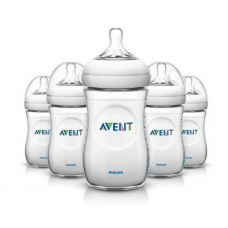 Philips Avent BPA Free Natural Polypropylene Bottle, 9 Ounce, 5 Count